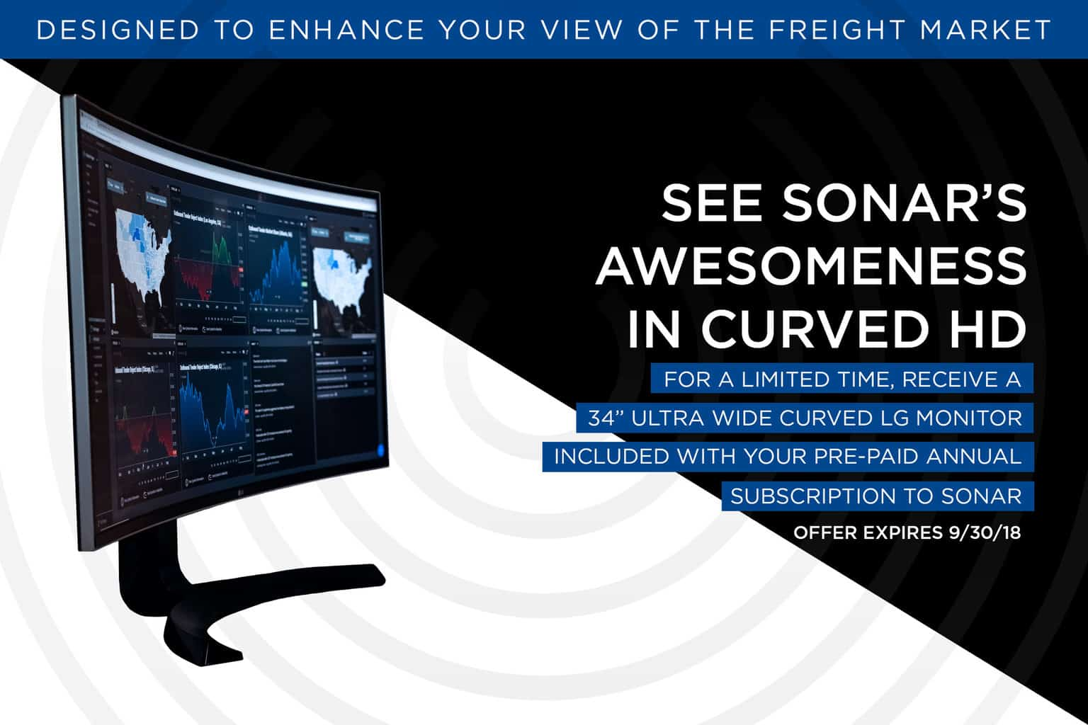 Photo of The freight market is meant for ultra-wide HD