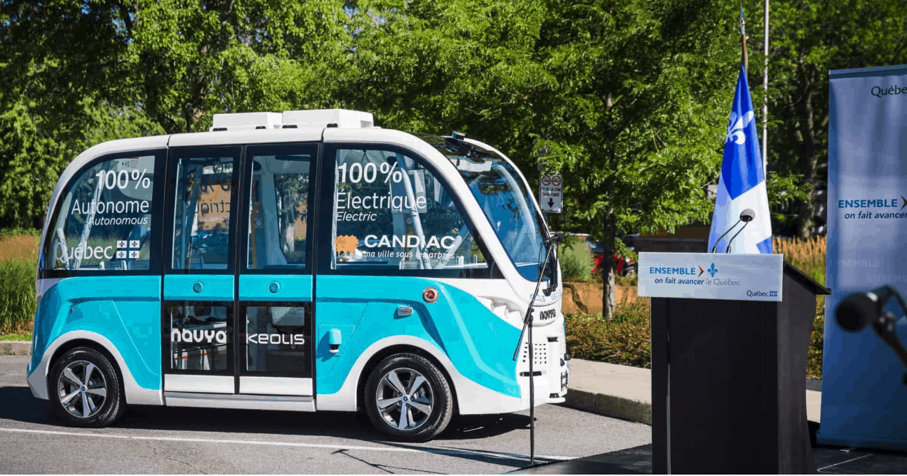 Photo of How one little autonomous shuttle in Quebec thinks it can