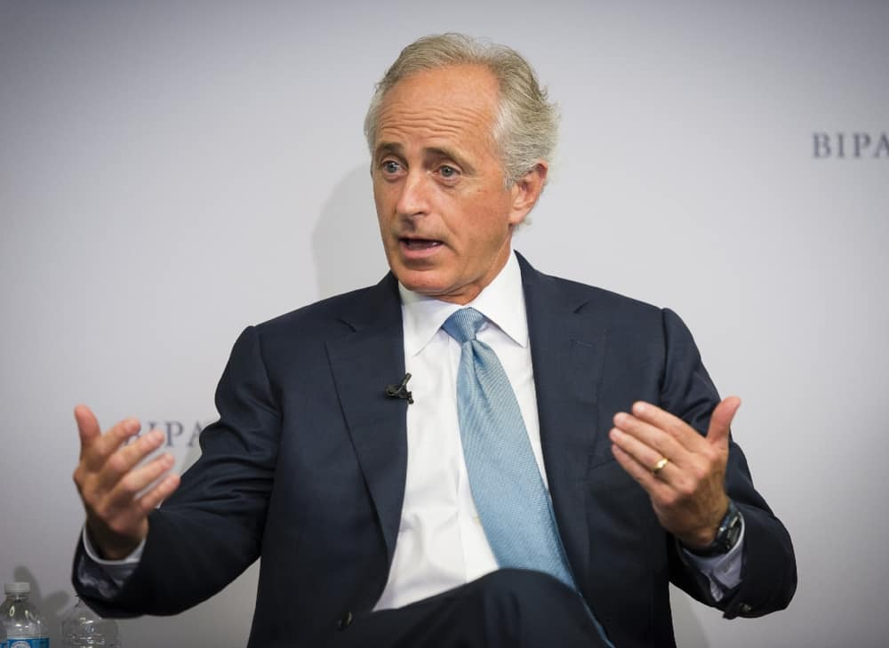 Senator Bob Corker (R-TN). ( Photo: Bipartisan Policy Center )