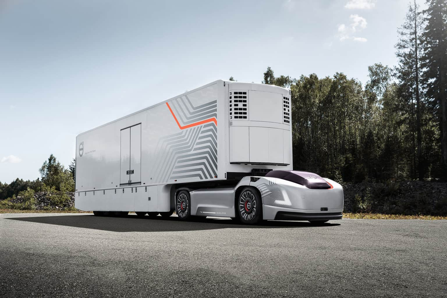 Photo of Volvo Trucks' step towards the future of transportation: an autonomous electric vehicle