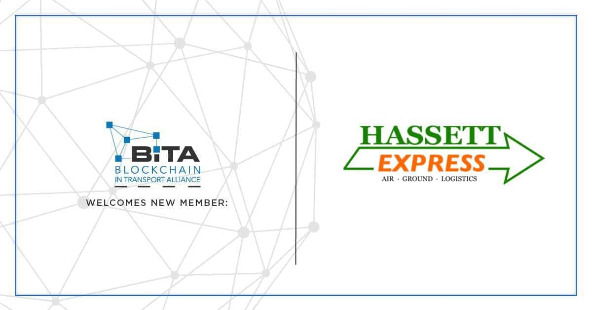 Photo of Hassett Express joins the Blockchain in Transport Alliance