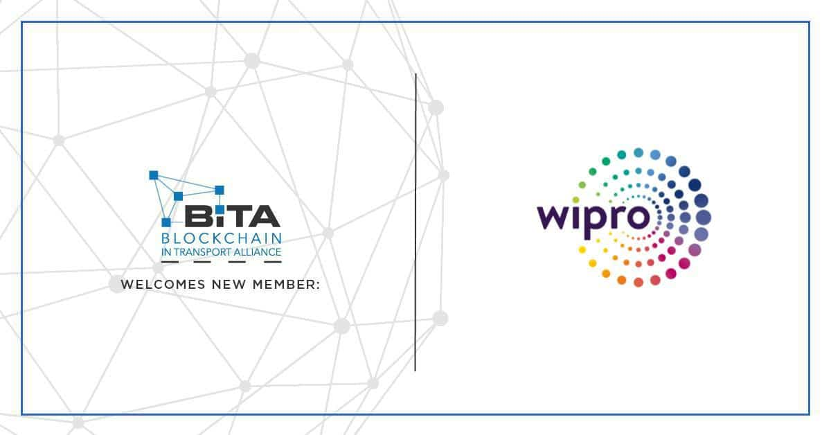 Photo of Wipro joins BiTA to drive blockchain adoption in the transportation industry