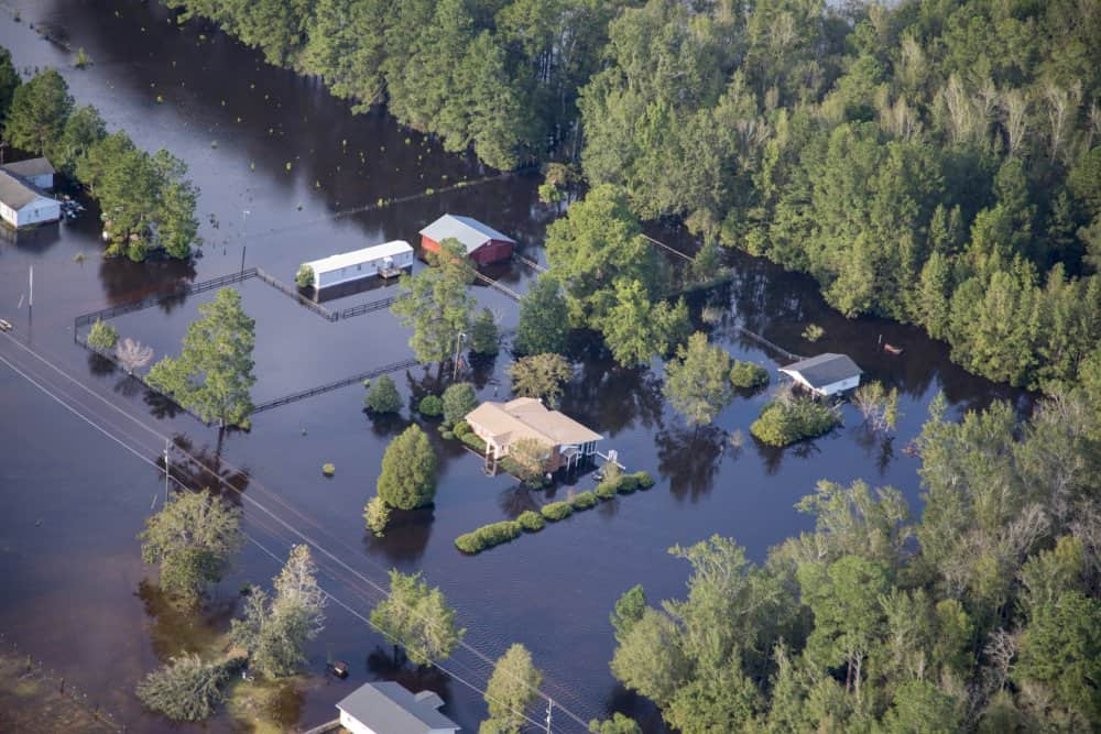 Photo of Hurricane Florence recovery complicated by high tides, localized flooding