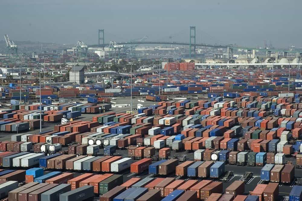 Containers at the Port of Long Beacj (Photo: Port of Long Beach)