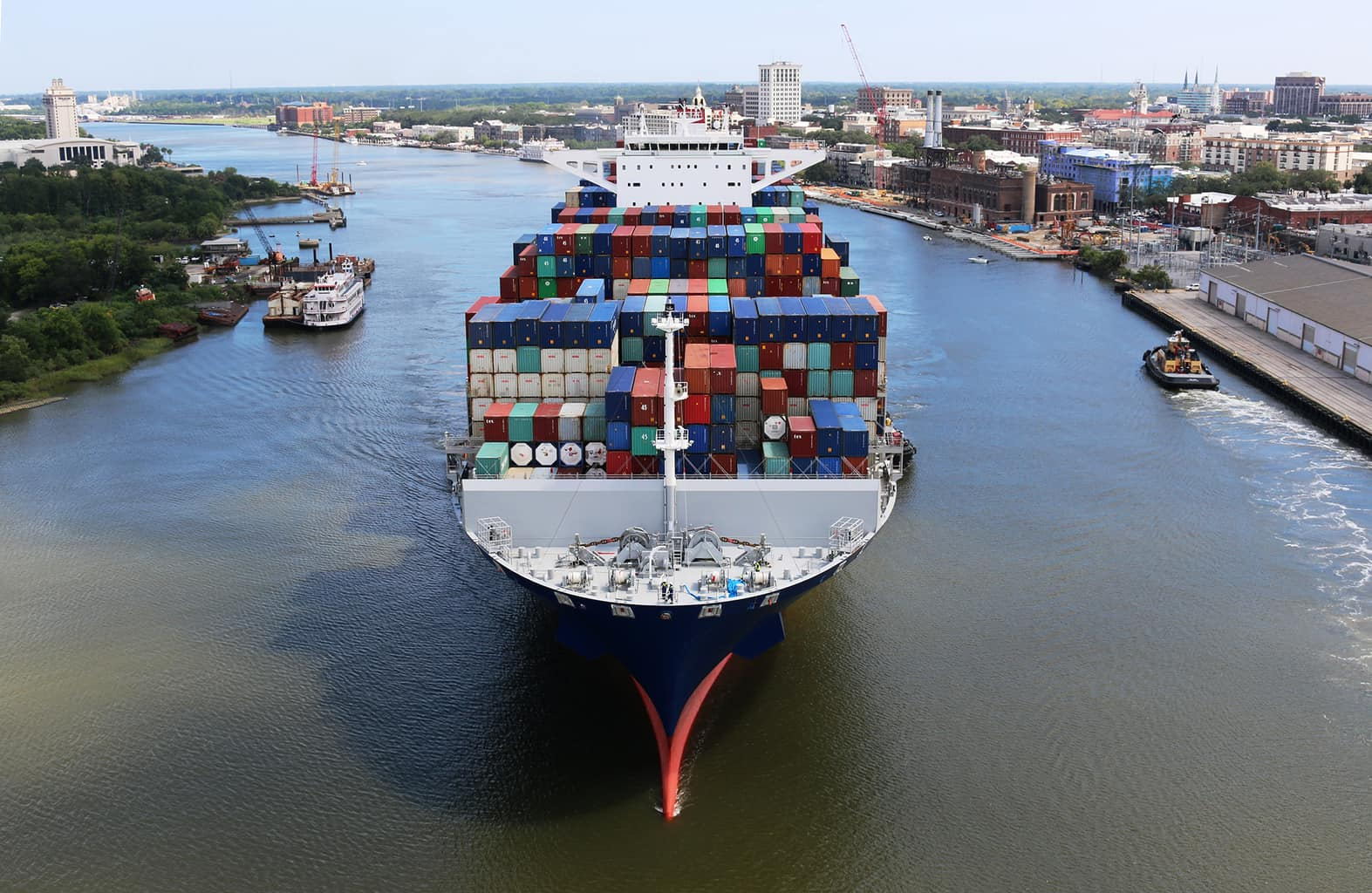 Georgia Ports Authority approves $92 million in funding for