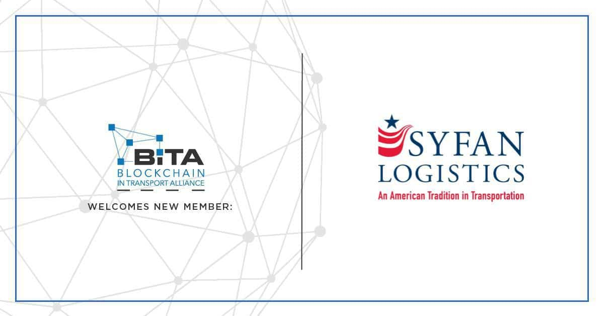 Photo of Syfan Logistics joins the Blockchain in Transport Alliance