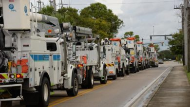Photo of Power crews getting boost in Hurricane Michael aftermath: reinforcements coming