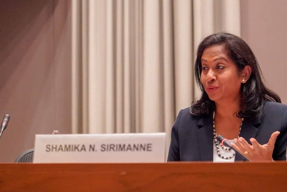 Director of UNCTAD's Division on Technology and Logistics, Shamika N. Sirimanne