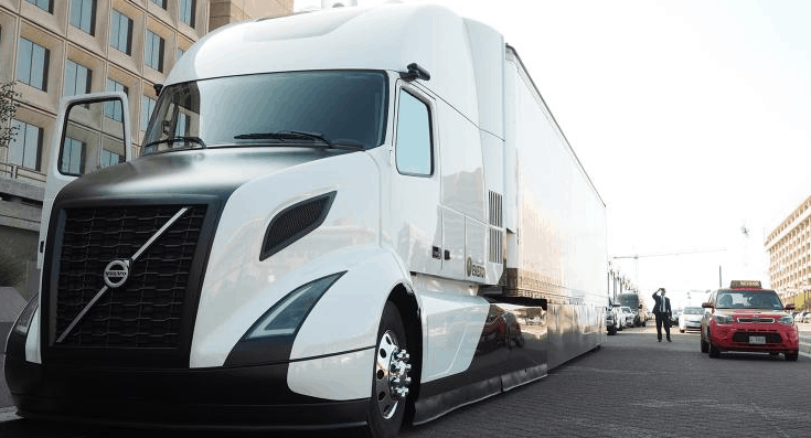 Volvo's all-electric Class 8 truck ( Photo: Volvo )