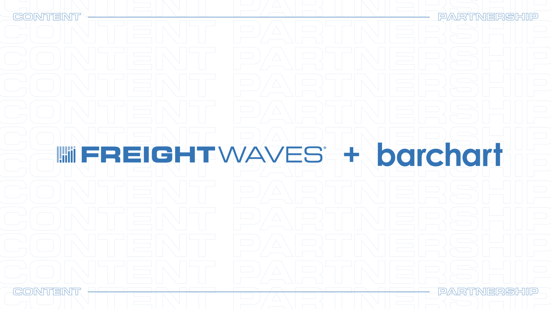 Photo of Barchart partners with FreightWaves to deliver freight news and data on Barchart.com