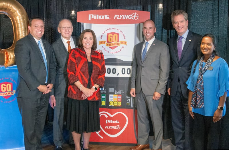 Photo of Pilot Flying J celebrates 60 years with $2 million in donations