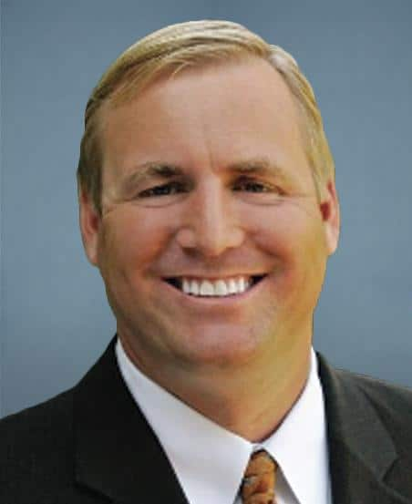 Photo of Jeff Denham, whose amendment would have overturned separate state trucking rules, loses his seat