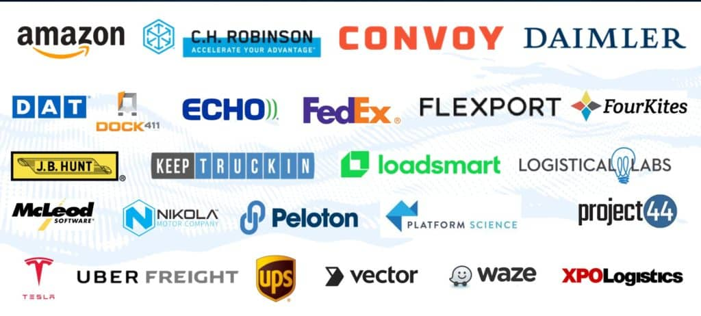 The inaugural Freight Tech 25 is announced, with Amazon