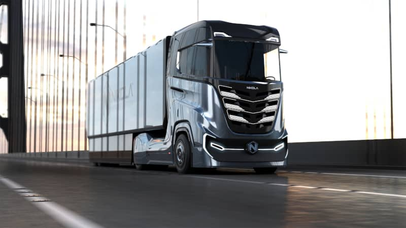 Photo of Nikola Motor to introduce hydrogen-electric tractor to Europe