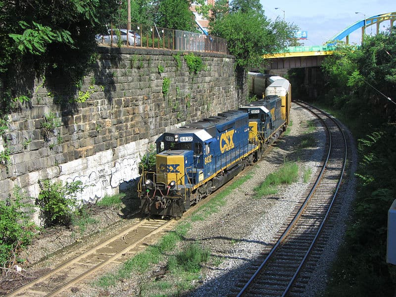 Photo of CSX to double-stack trains through Baltimore after century-old tunnel is fixed