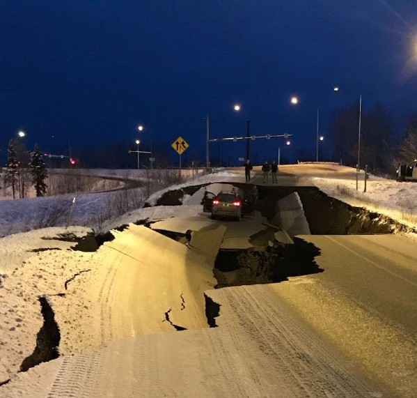 Photo of Some roads, oil pipelines re-open after Anchorage earthquake