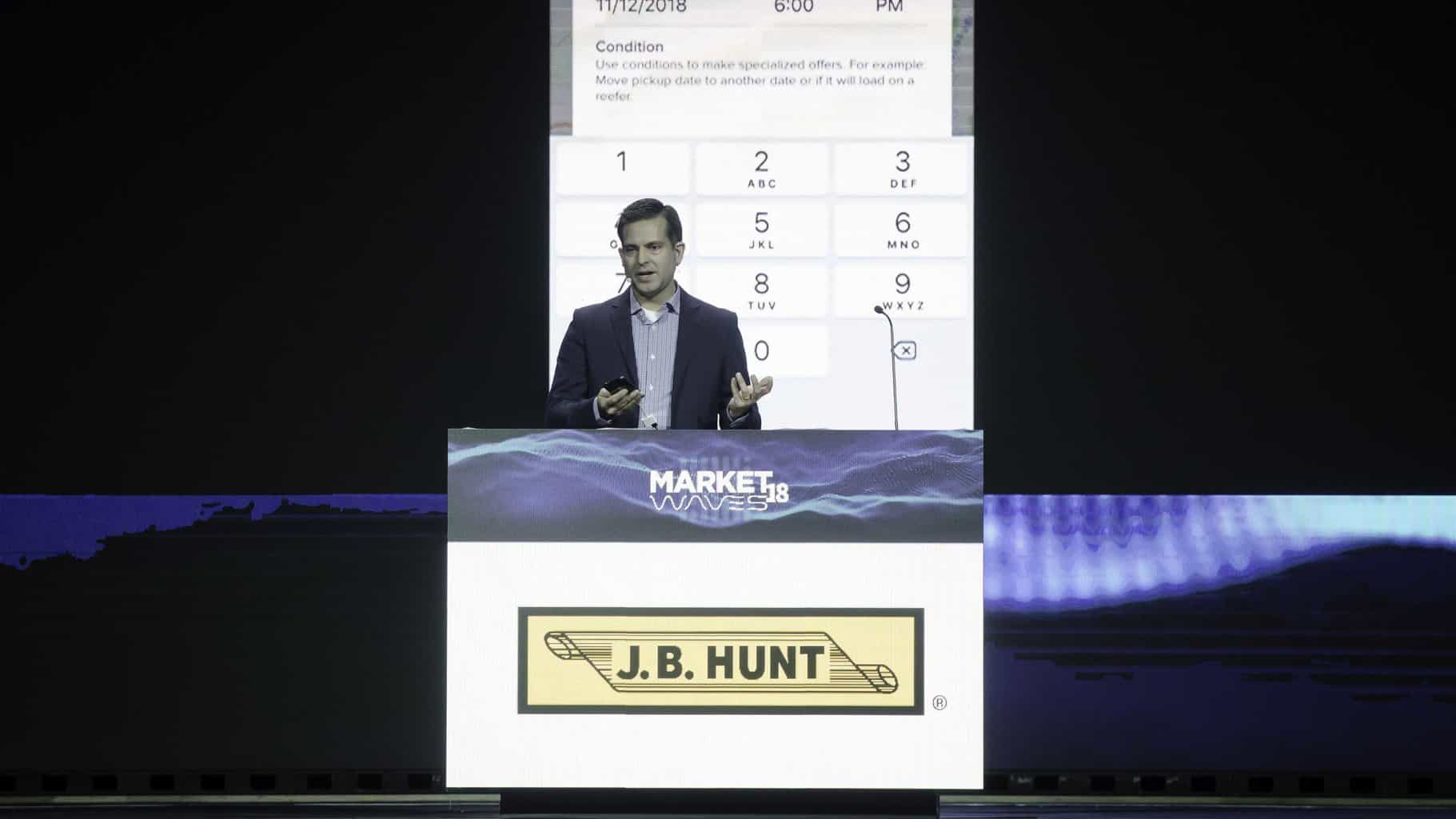 Photo of Rapid-fire pitch: J.B. Hunt's third version of Carrier 360 aims to ease load matching