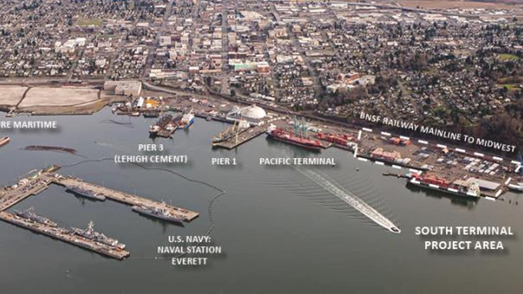 Photo of Catering to Boeing and hotel guests, comprehensive Port development advances
