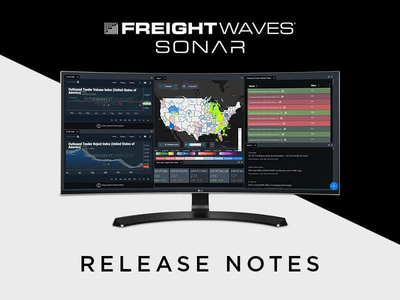 Photo of FreightWaves releases filtered social flash news content in SONAR for real time reporting