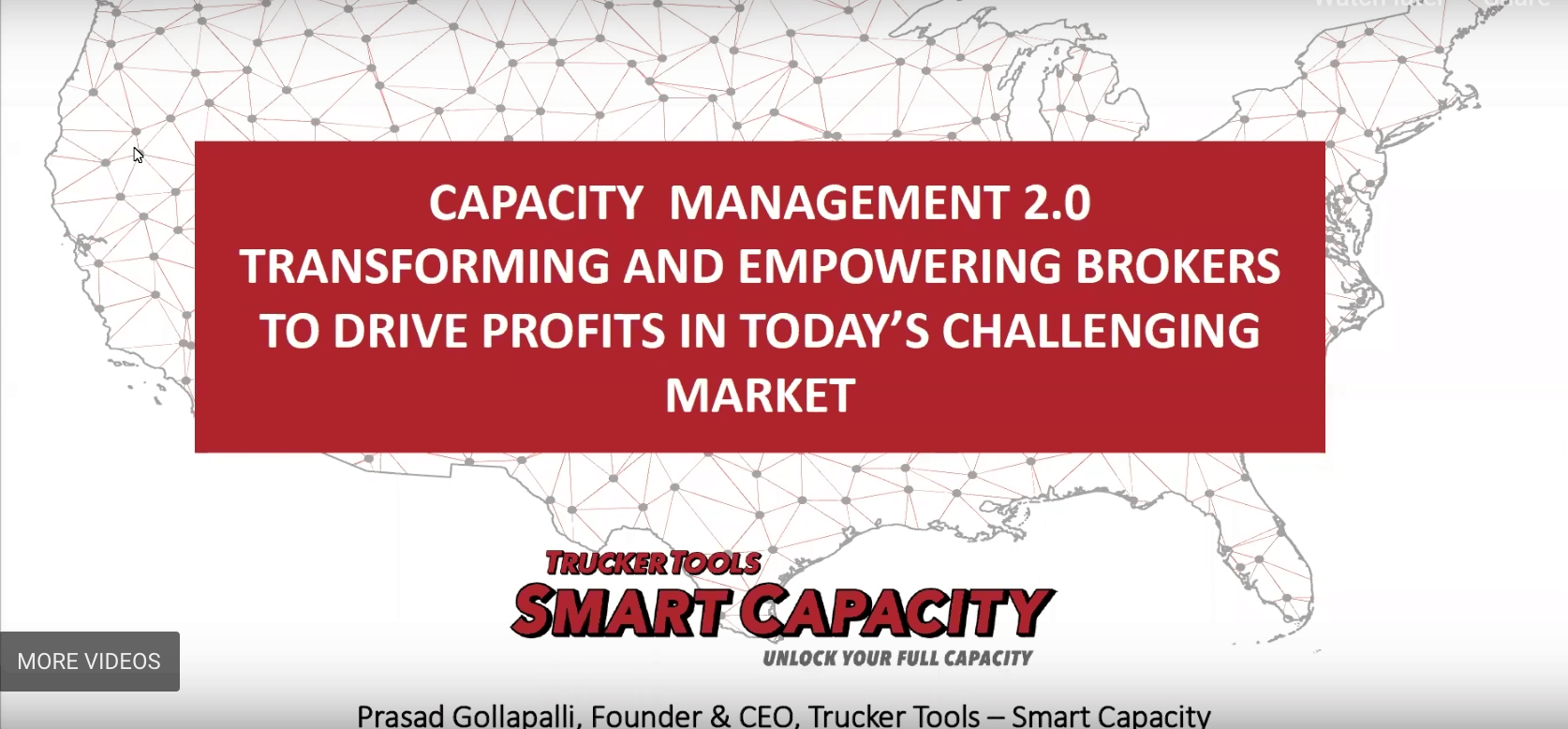 Photo of Webinar: how Trucker Tools' Smart Capacity makes brokers more efficient
