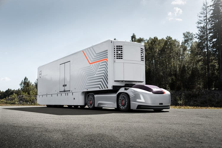 Volvo Group's VERA prototype is a Level 5 autonomous transport system, incorporating electric power. ( Photo: Volvo Group )