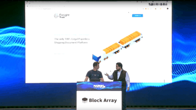 Photo of Rapid-fire pitch: Block Array's Freight Trust