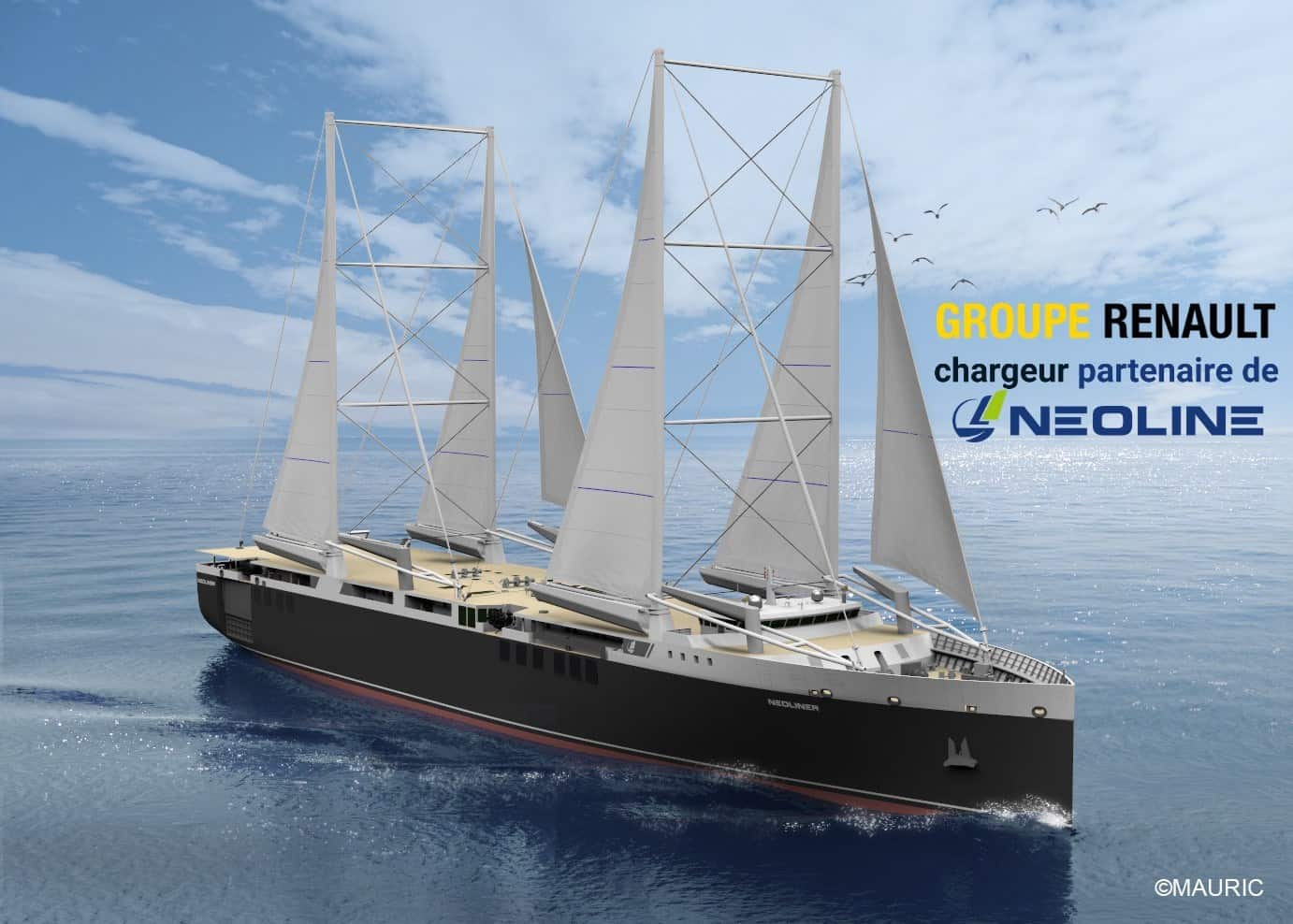 Photo of Neoline is bringing back ship sails to combat carbon and sulfur emission regulations