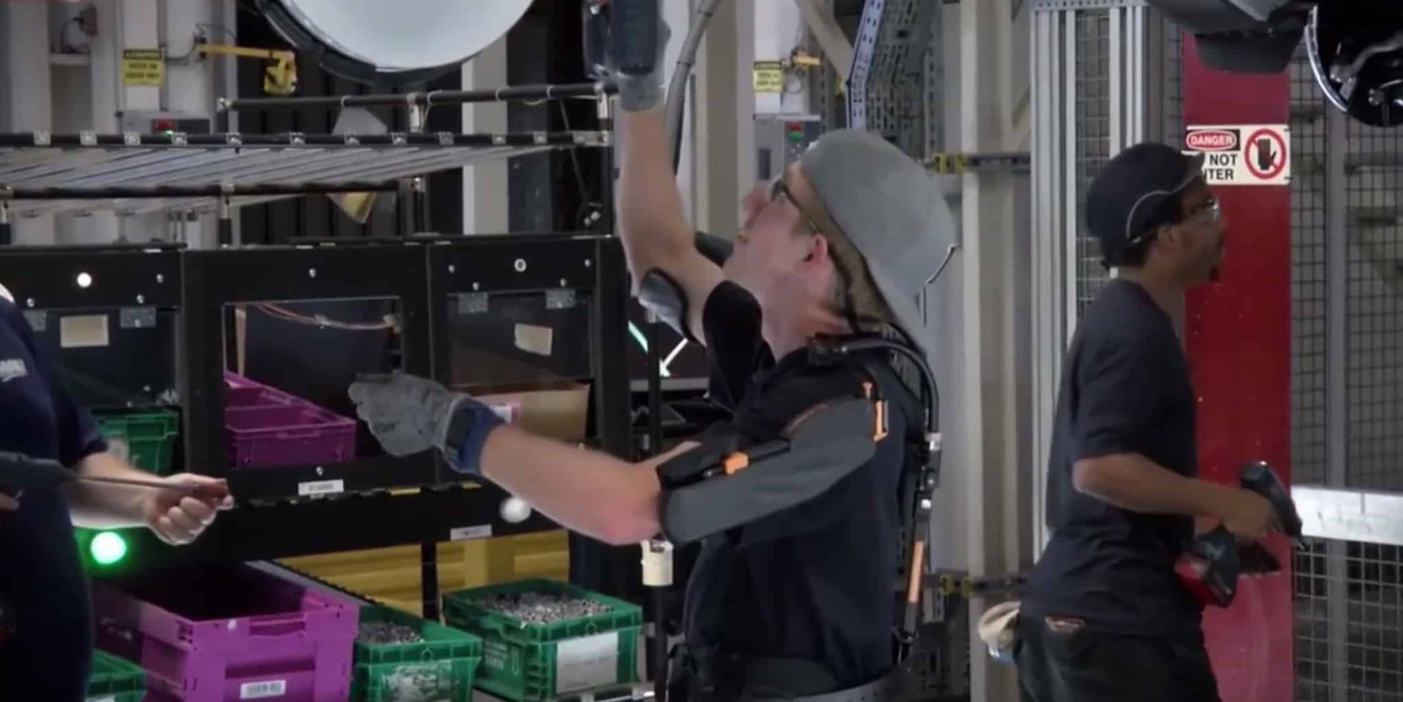 Photo of Industry turns to exoskeletons to boost worker productivity