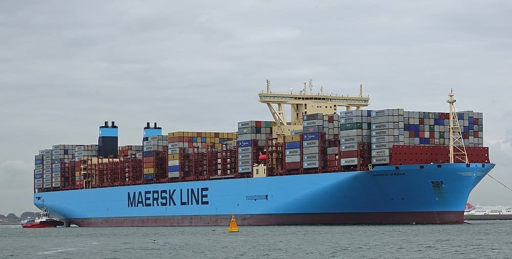 Port Report: Maersk results gain from U S  container import