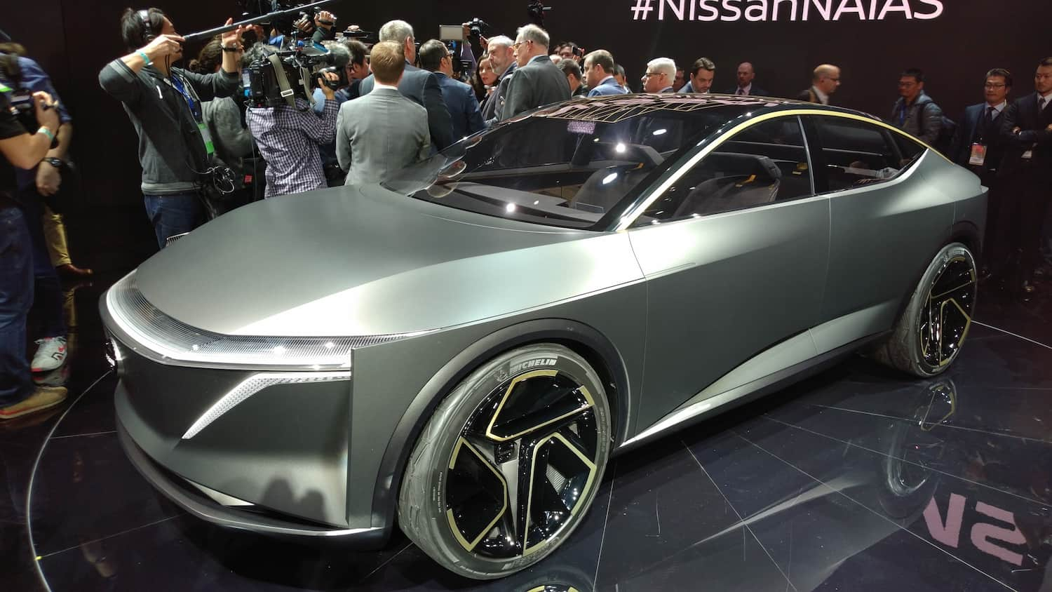 The Nissan Ims Electric Vehicle Concept Drew Raves From Those In Attendance At Detroit Auto Show But It Is Only One Of Several