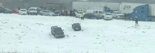 Photo of Serious wrecks, travel bans during wicked winter weather