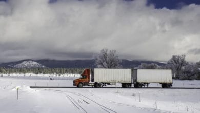 Photo of The trucking guide to staying safe on the road during harsh winters