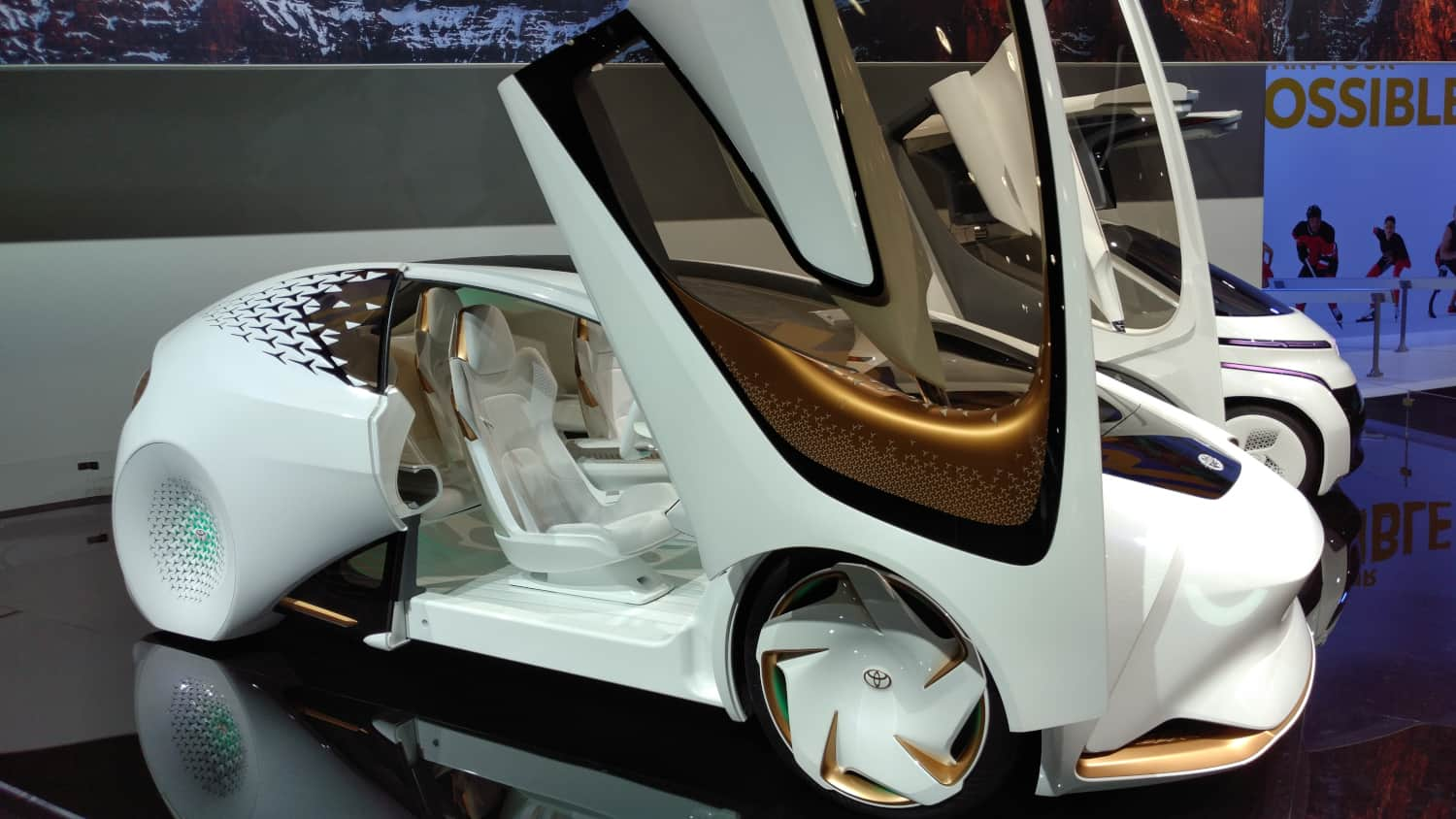 Photo of Toyota's innovative solutions to ensure mobility
