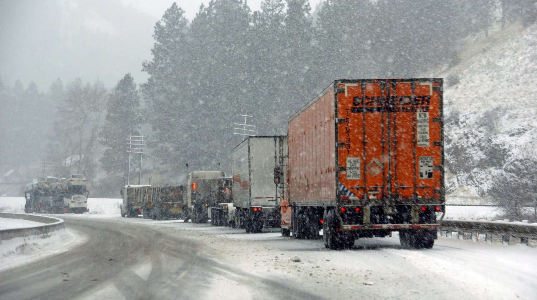 Photo of Massive snowstorm to bury the Sierras