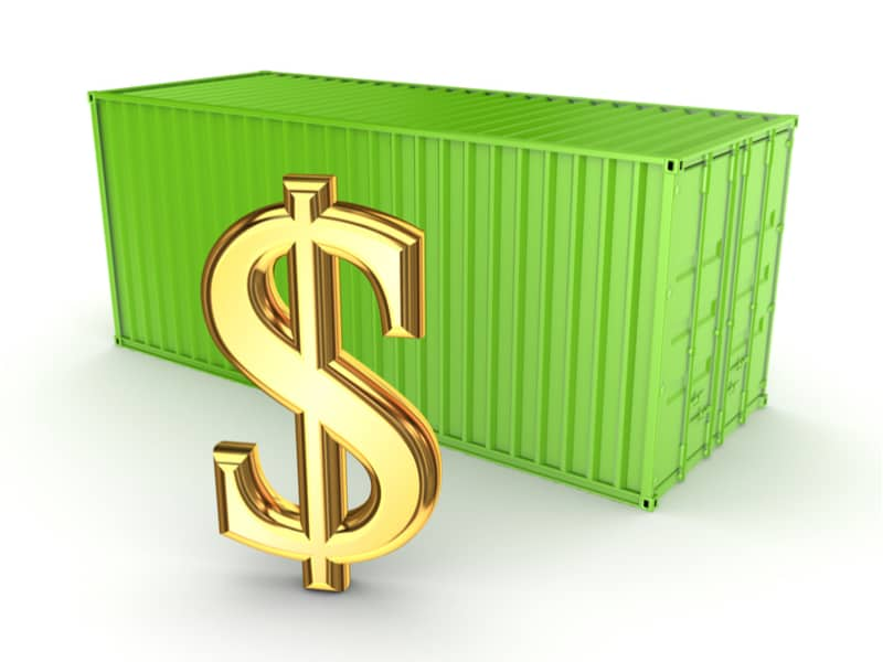 Container detention fees will vary from shipping line to to shipping line.