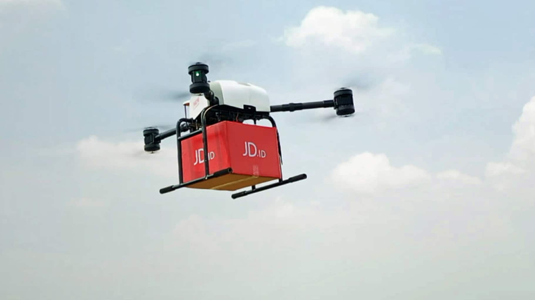 JD.com delivers books using drones in Indonesia during pilot run -  FreightWaves