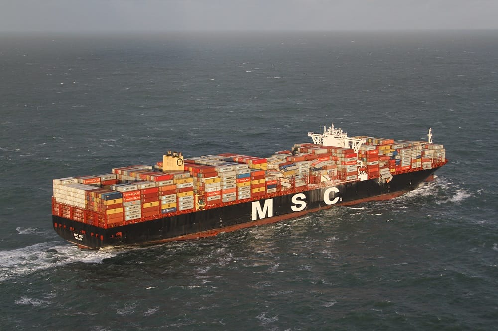 Photo of Clean-up begins following cargo losses from MSC Zoe