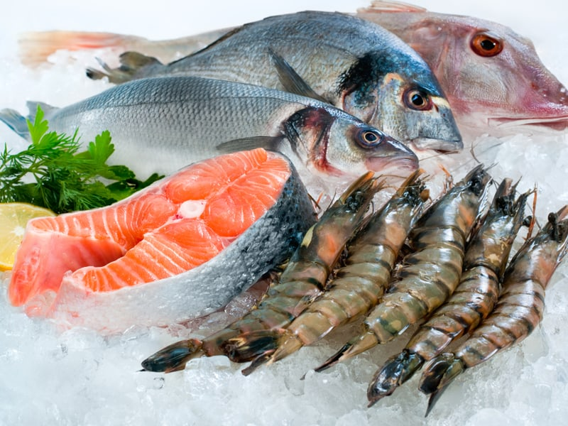 Freighted frozen seafood  should be kept colder than minus 20 degrees Celsius  (minus 4 F) but when the ambient Australian temperature is in excess of 40 C (104 F) then a reefer trailer won't be able to keep the cargo cold.  (Photo: Shutterstock)