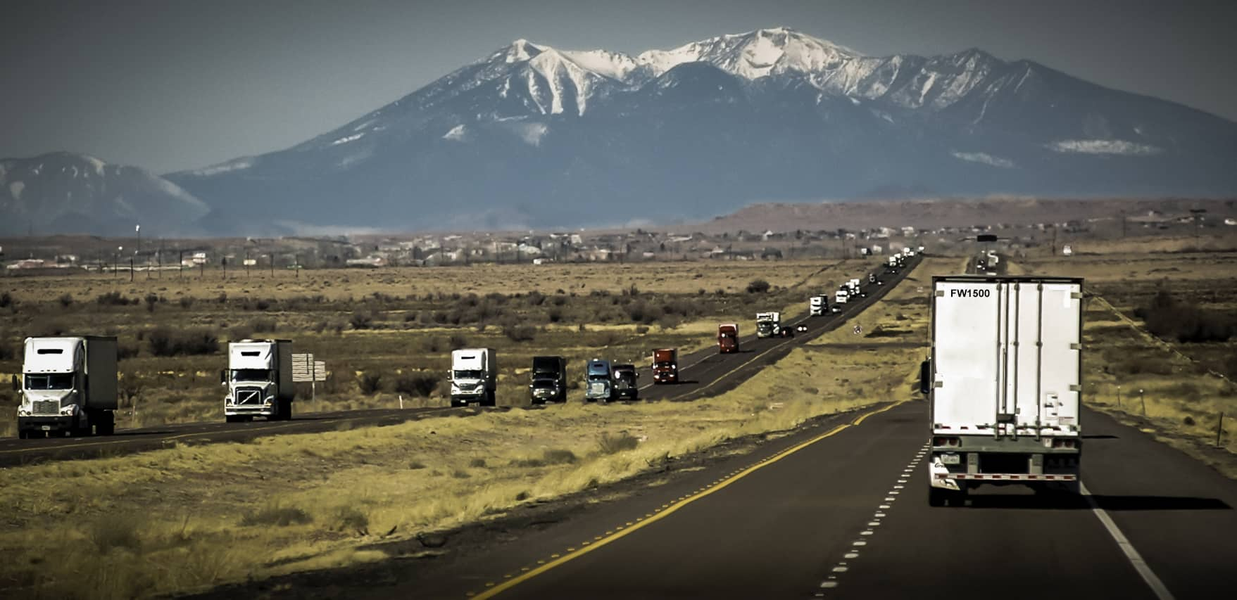 Inflation pressure cools, but trucking rates keep climbing