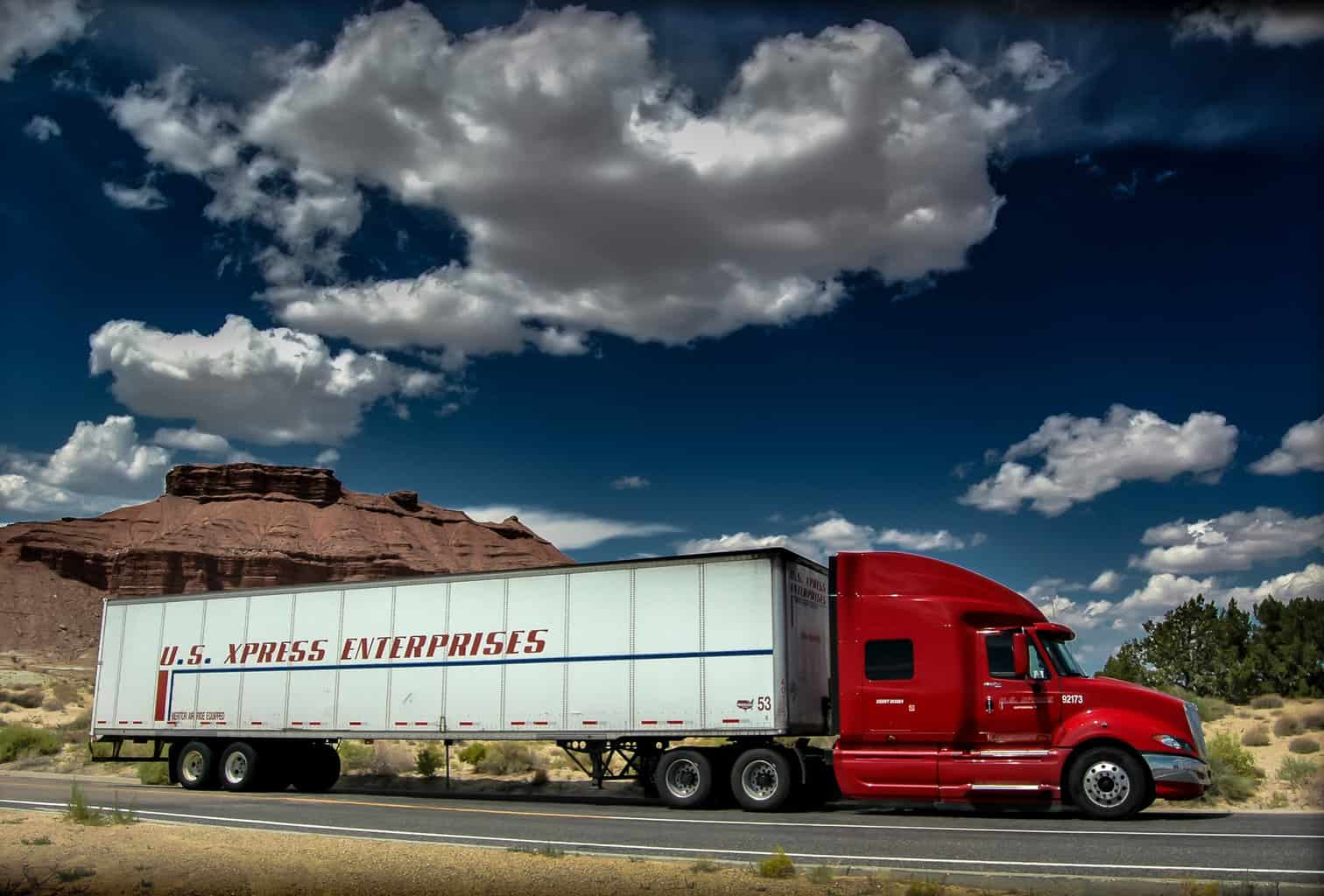 Photo of U.S. Xpress shares surge on lowest OR in twenty years