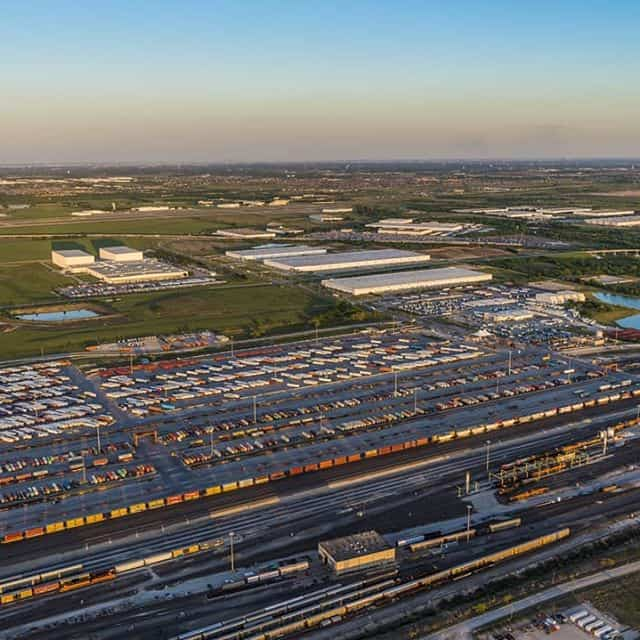 AllianceTexas' 9,600-acre inland port.