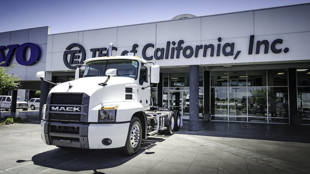 Mack is now offering up to 50 over-the-air updates of engine parameters with the new Parameter Plus program, allowing customers to fine-tune their vehicle's performance during the year. ( Photo: Brian Straight/FreightWaves)