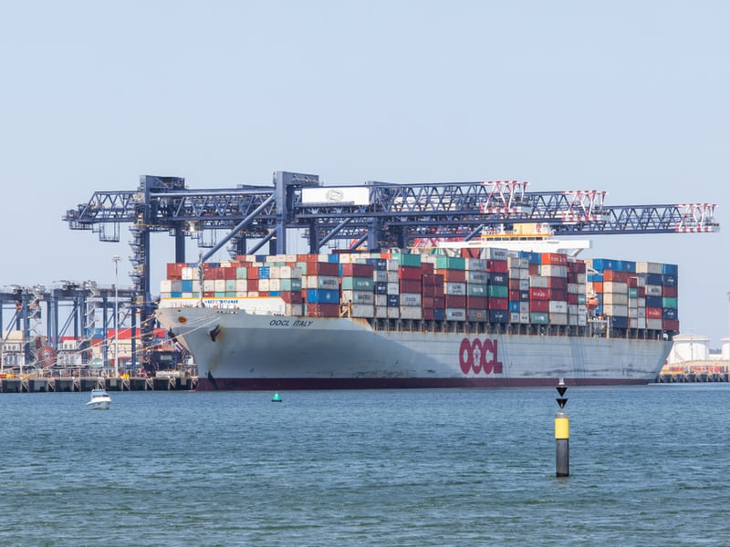 Photo of More boxes on larger but fewer ships at Port Botany