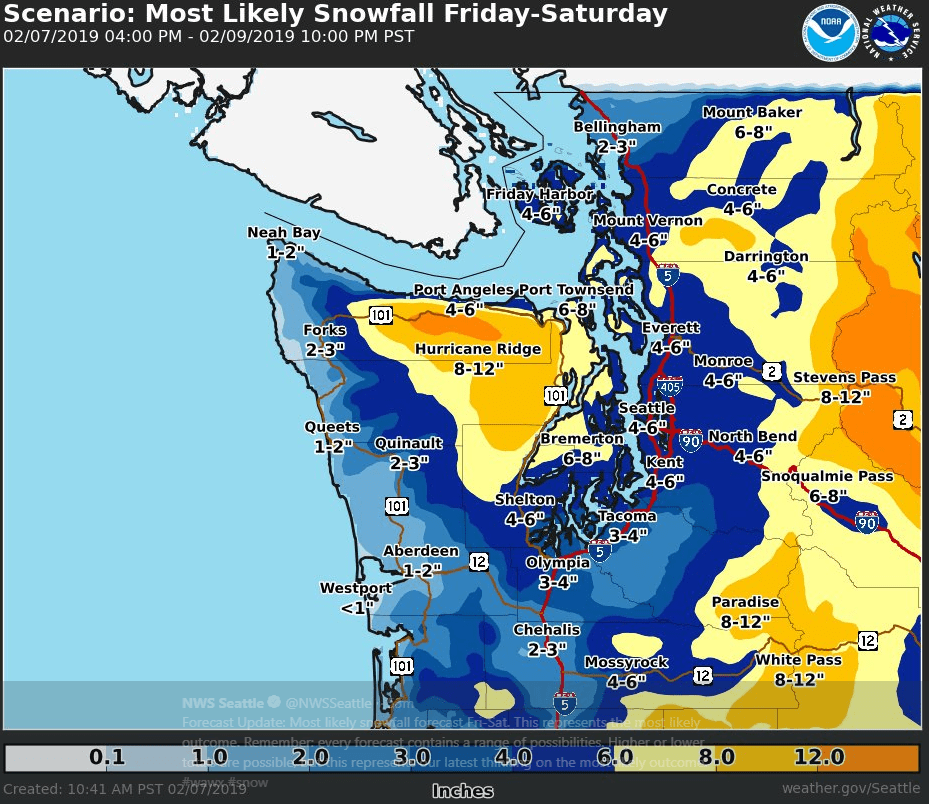 Big snowstorm heading to the Pacific Northwest - FreightWaves