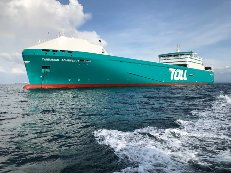 Photo of Global logistics giant Toll unveils two new Bass Strait ships