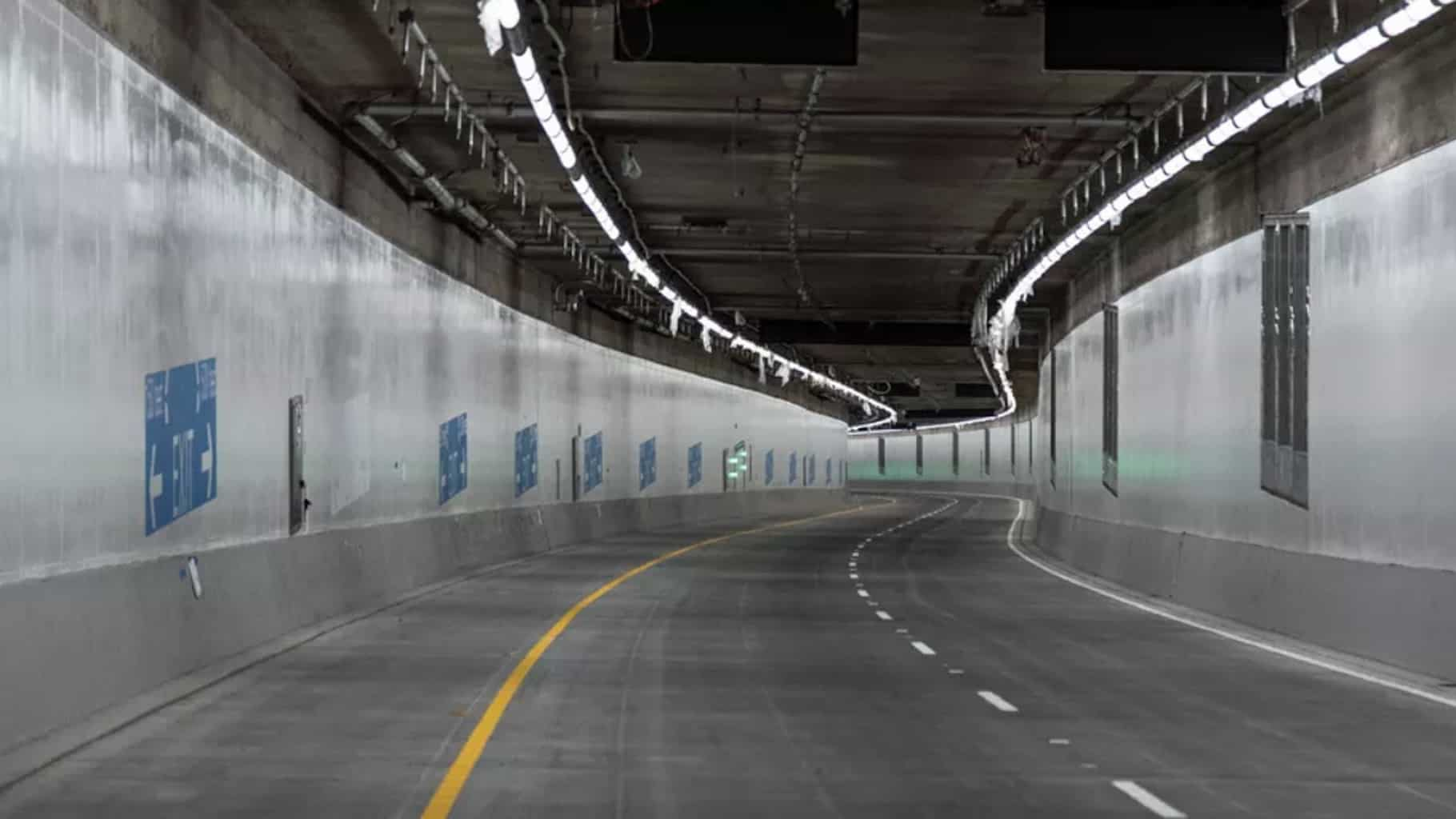Photo of Highway 99 tunnel opens in Seattle — three years behind schedule