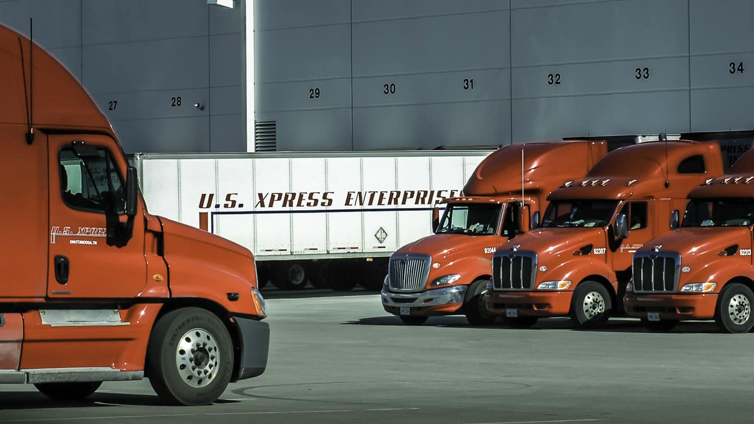 Photo of US Xpress showcases driver simulator at 2019 LINK Conference