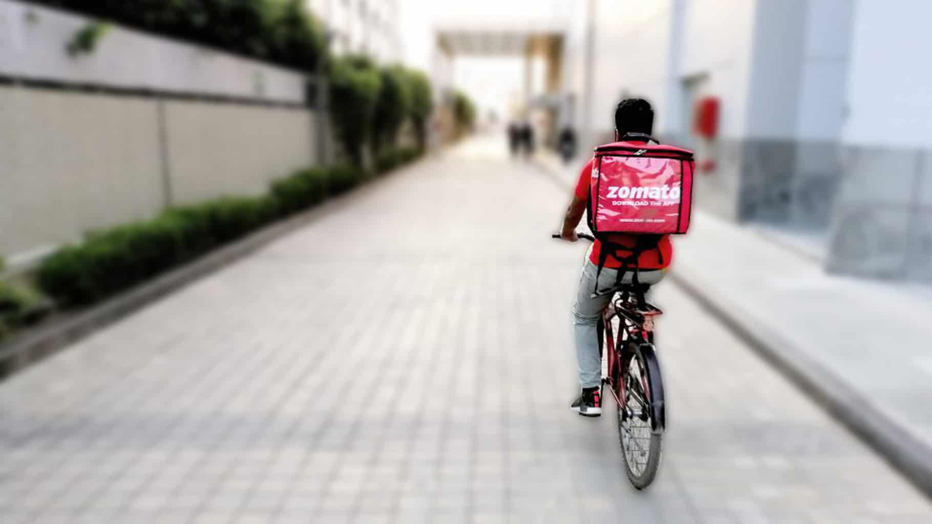 Photo of Zomato looks to put 40 percent of its last-mile workforce on bikes