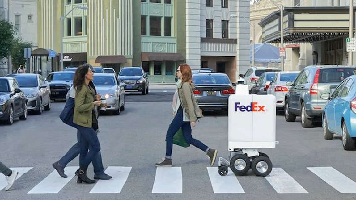 FedEx to roll out delivery robot capable of 8-mile round