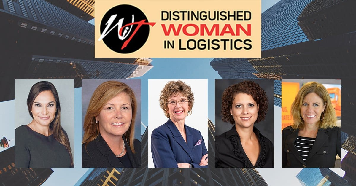 Photo of Women in Trucking names finalists for 2019 Distinguished Woman in Logistics award